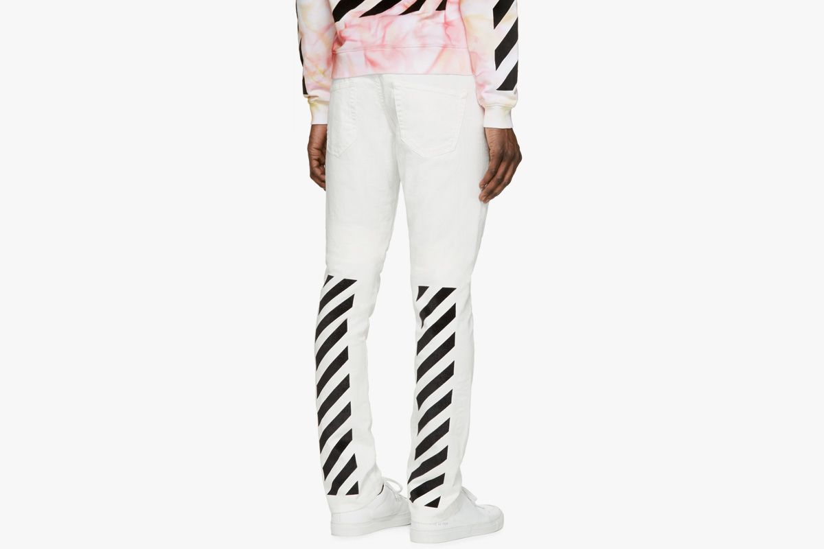 Off-White x SSENSE Jeans