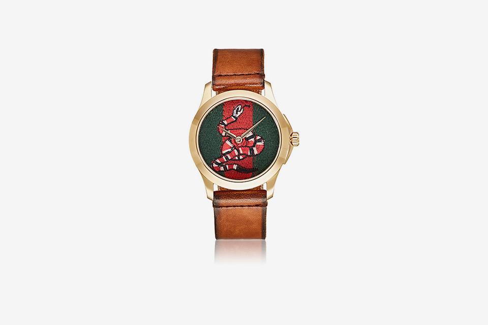 Le Marché Des Merveilles Leather Watch