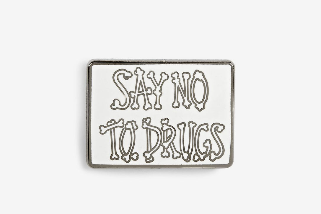 Say No To Drugs Pin