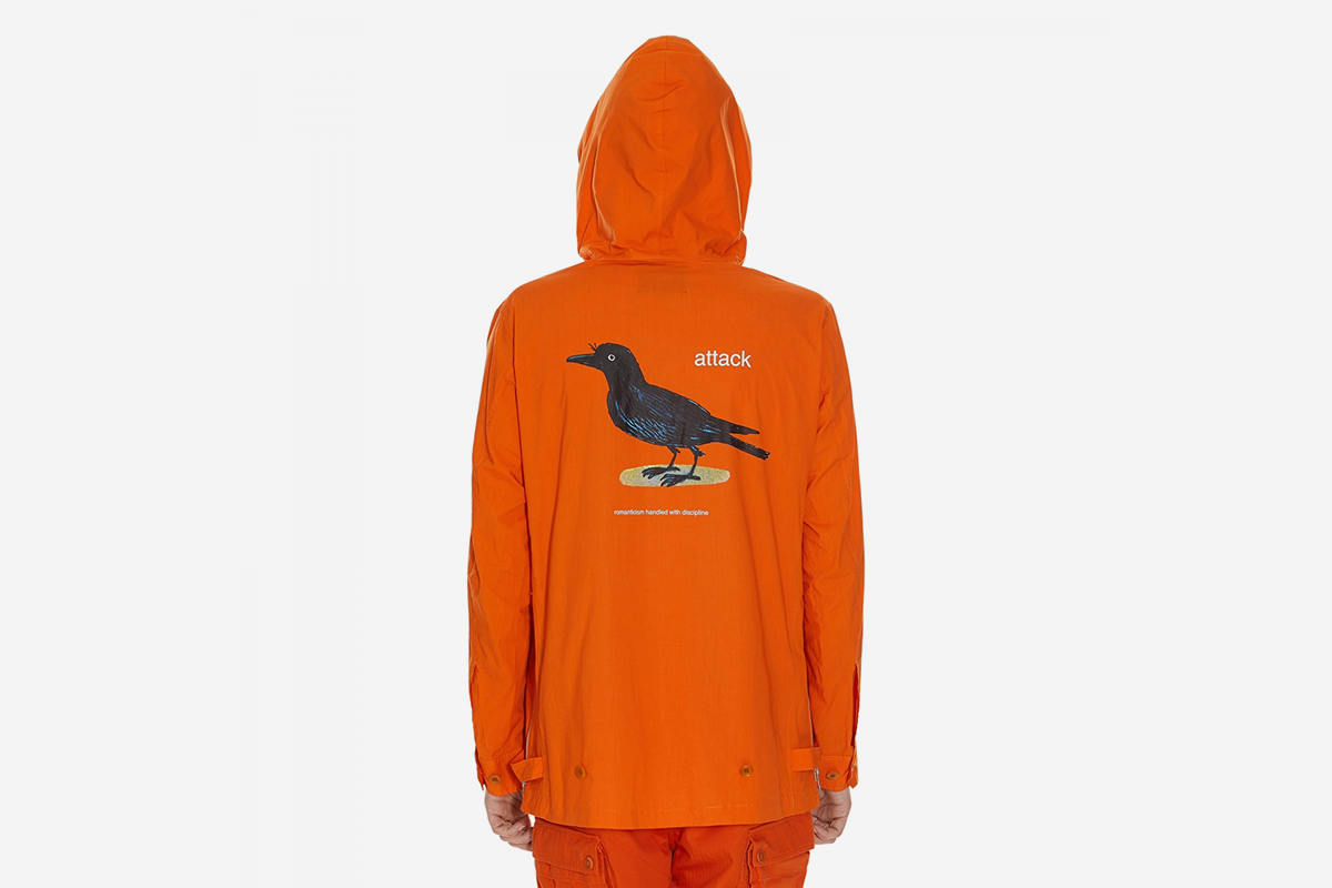 Crow Lace Up Anorak
