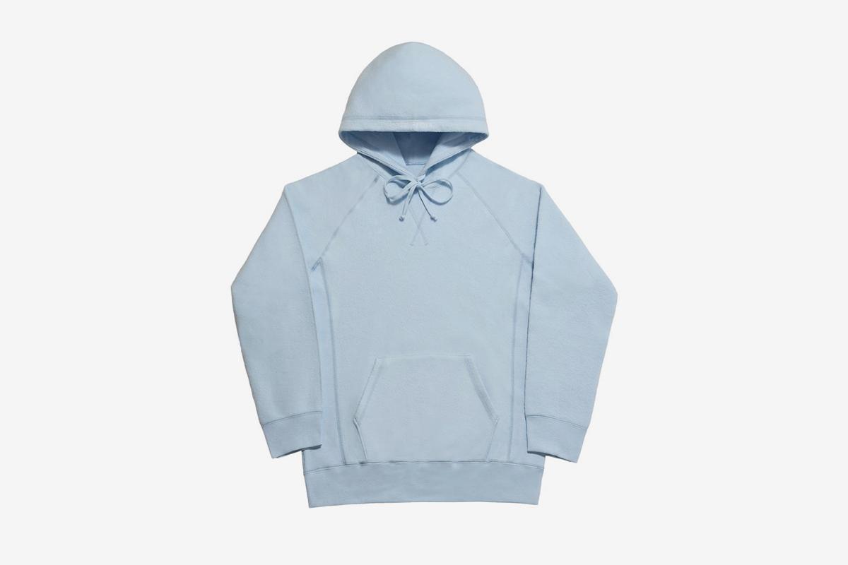Reverse Fleece Pullover Hoodie