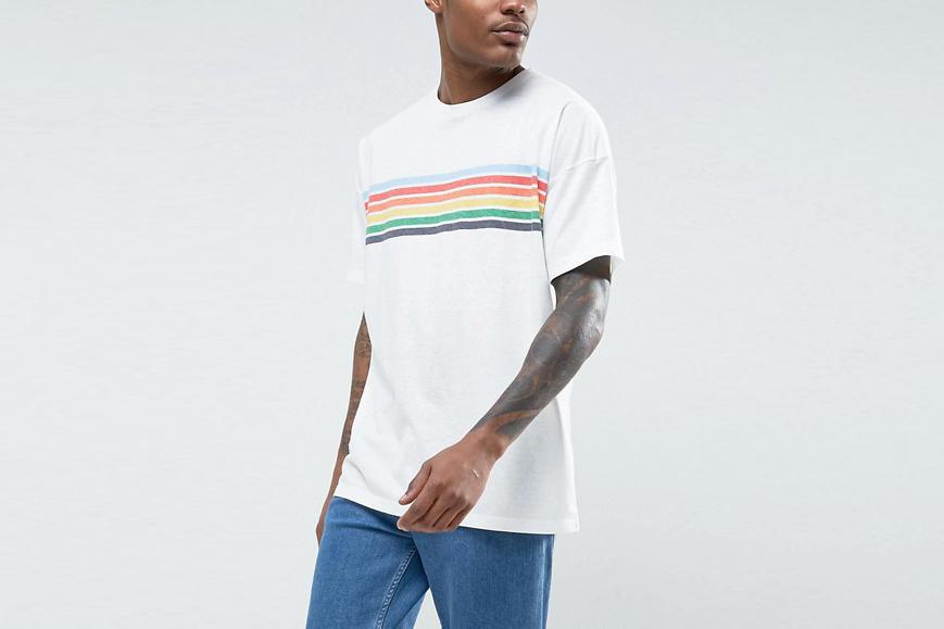 Oversized Rainbow T-Shirt