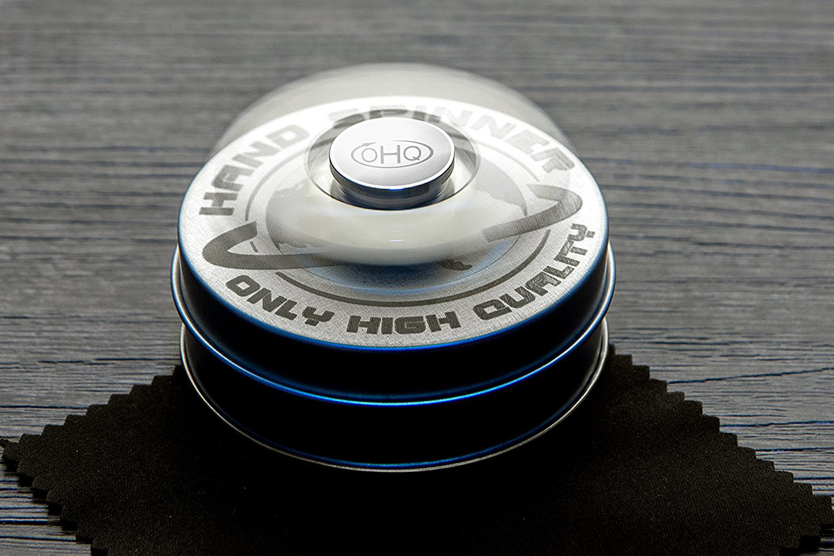 Stainless Steel Fidget Spinner