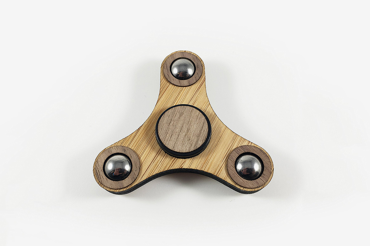 Bamboo Fidget Spinner