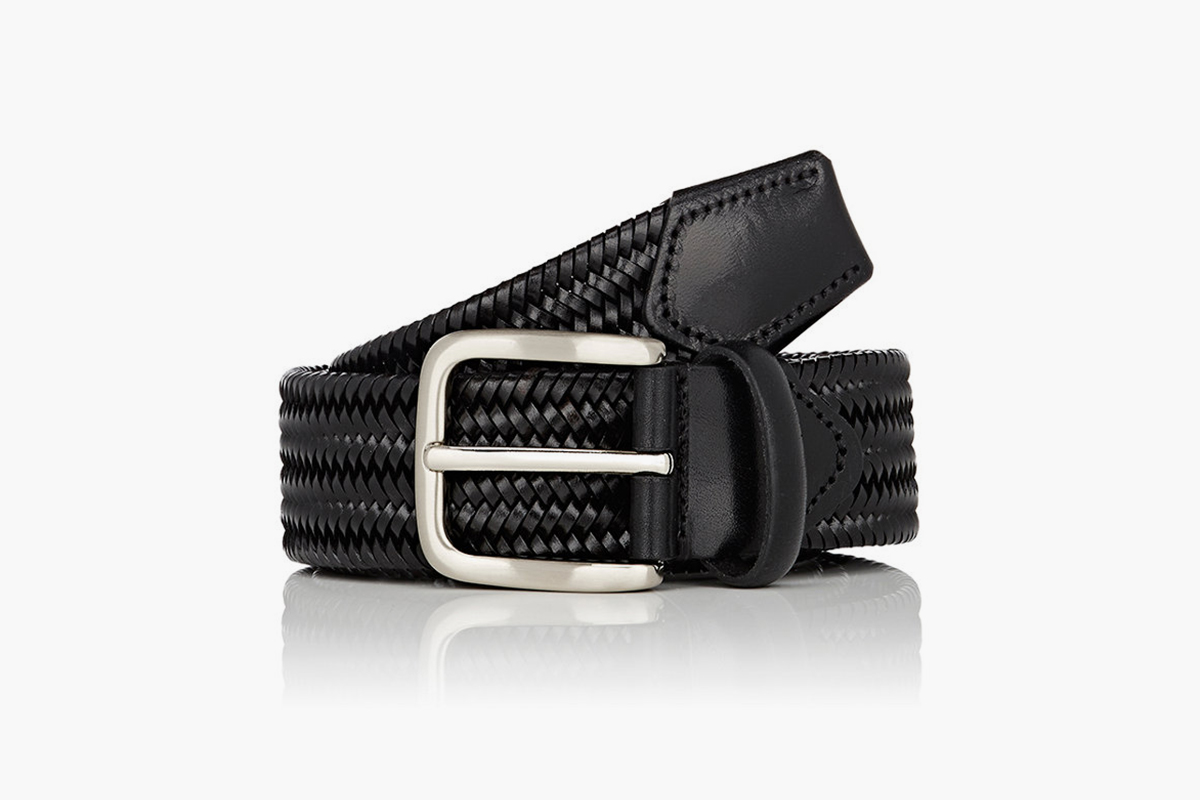 barney s new york leather belt what drops now