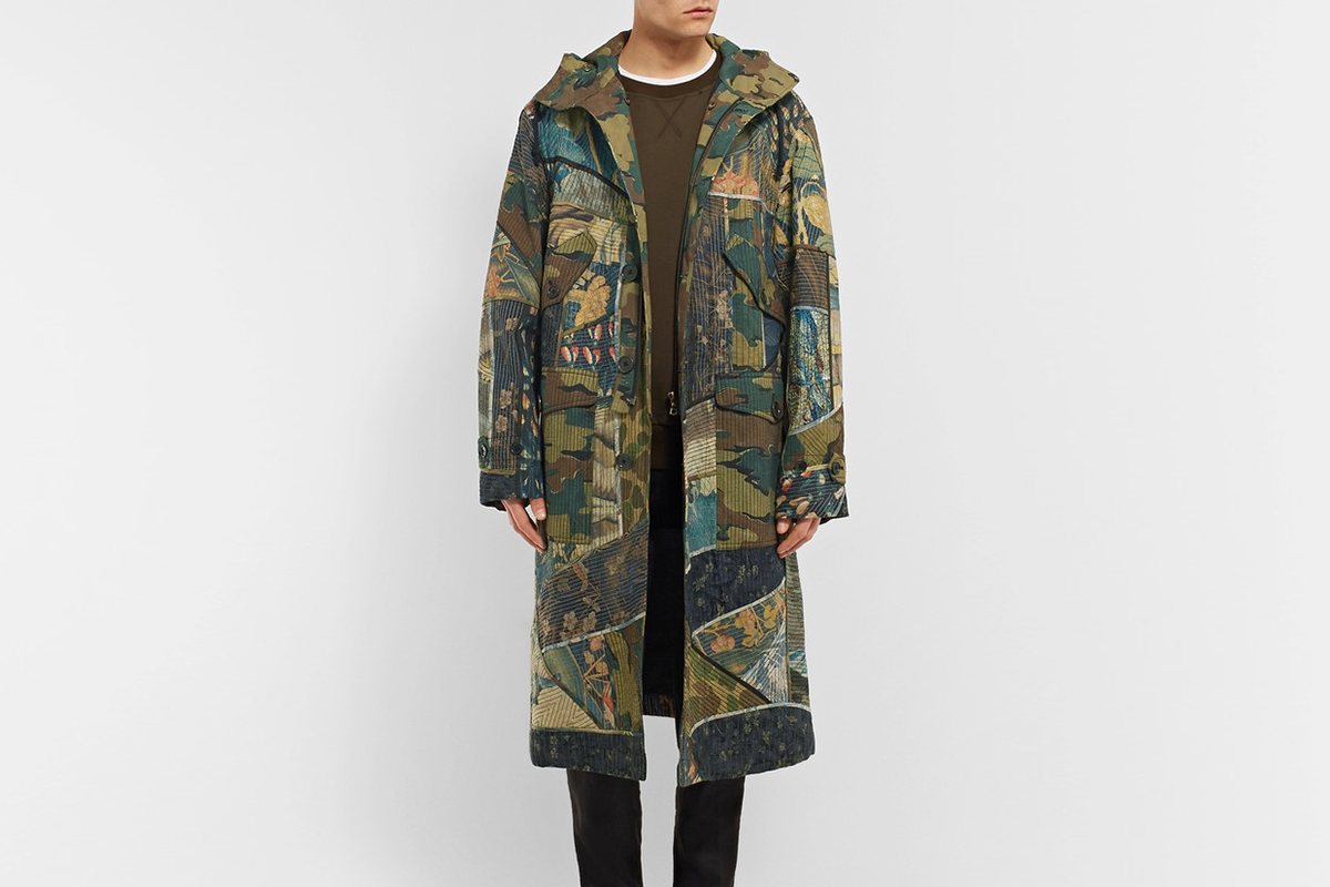 Oversized Patchwork Parka