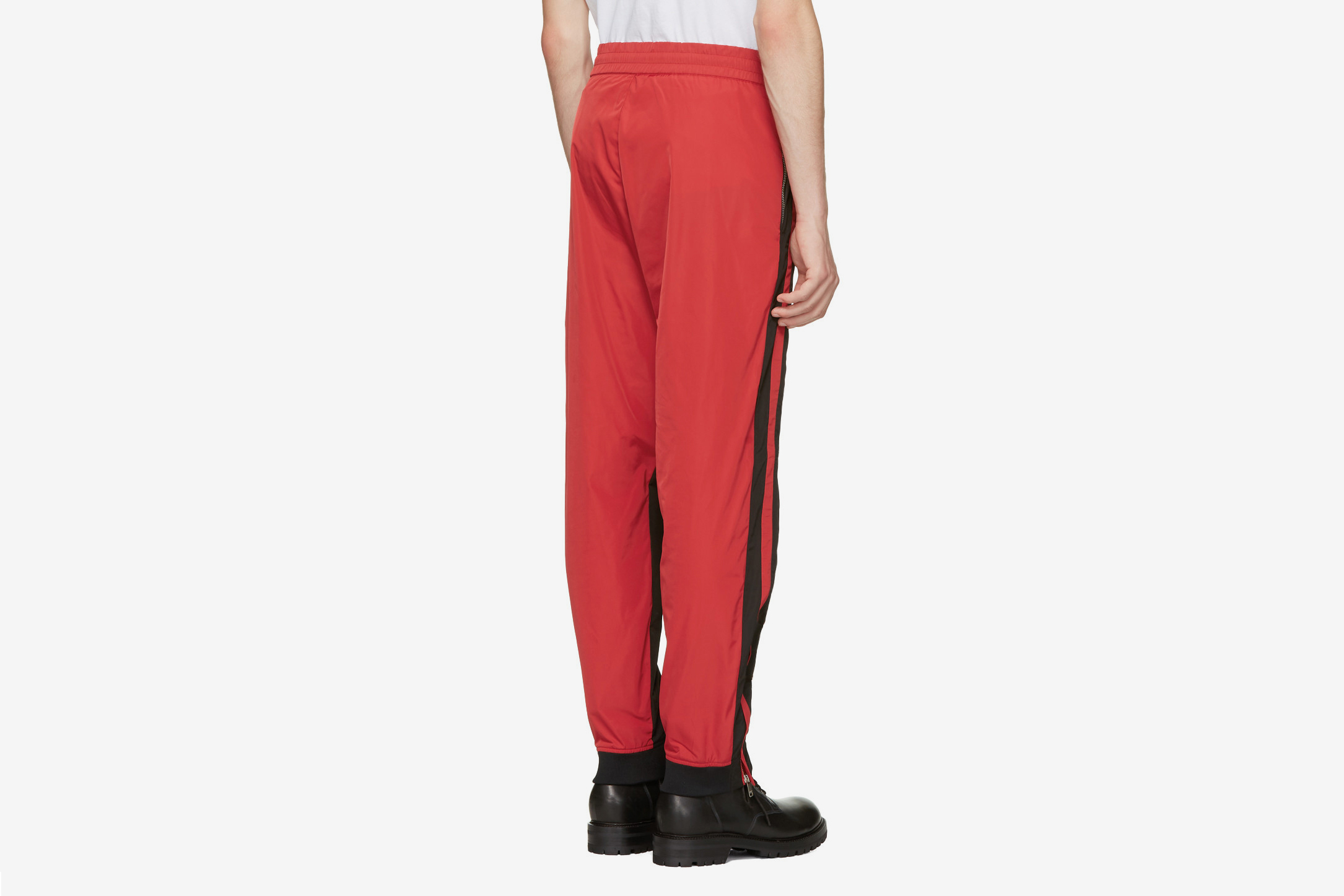 Black & Red Track Pants
