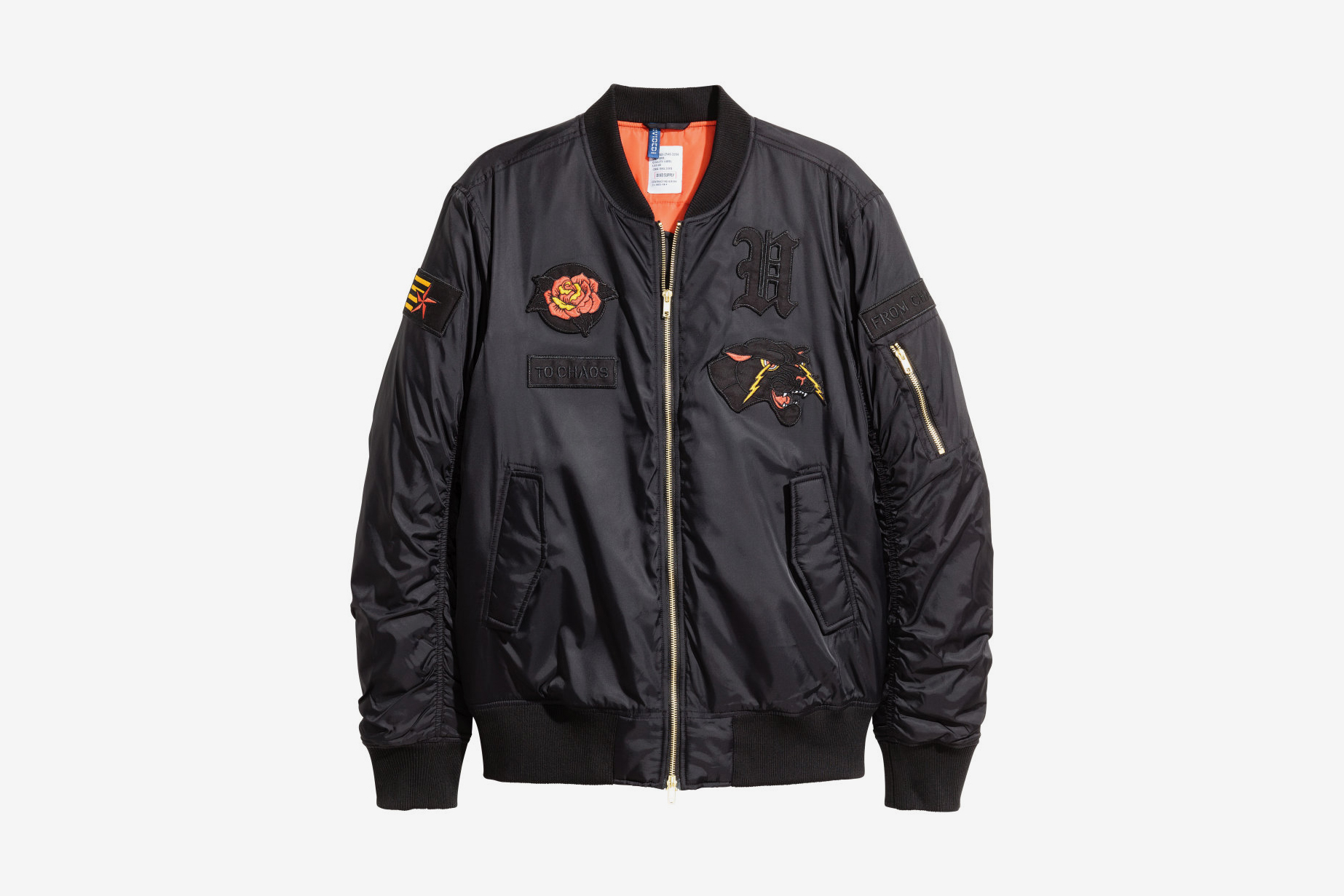 Hu0026M Padded Bomber Jacket | What Drops Now