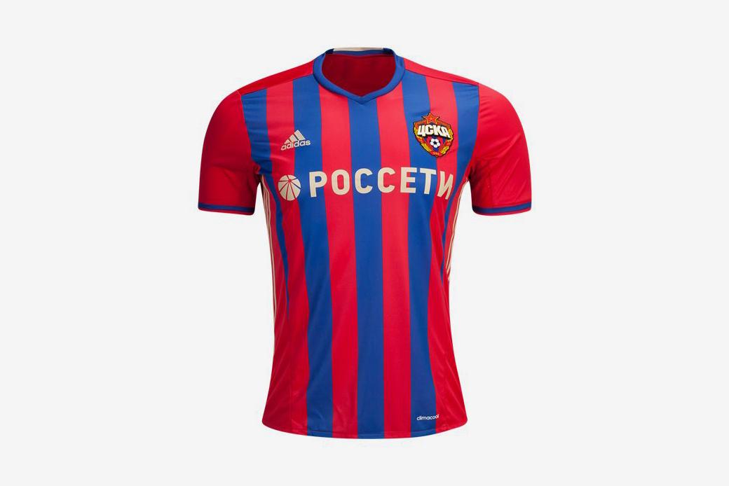 CSKA Moscow 16/17 Home Soccer Jersey