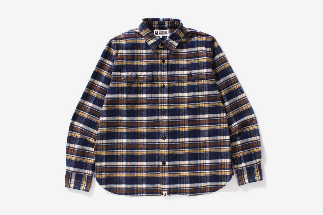 College Flannel Shirt