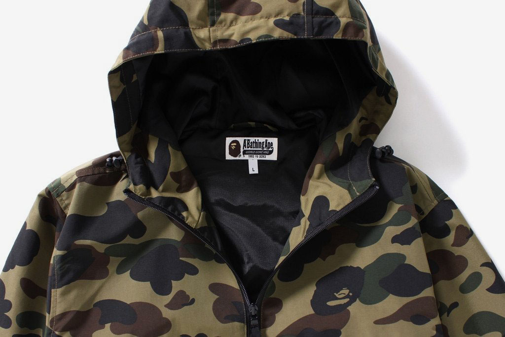 1st Camo Hoodie Jacket