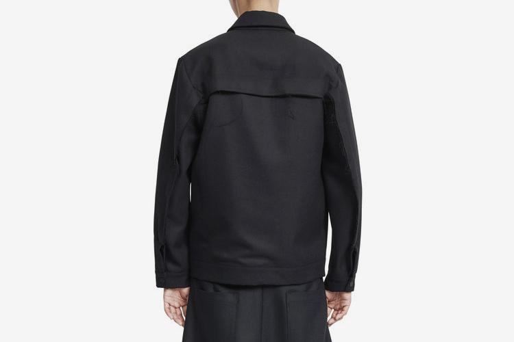 Slim Fit Wool Jacket