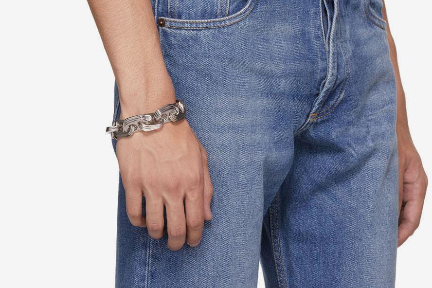 Bottlecap Chain Bracelet