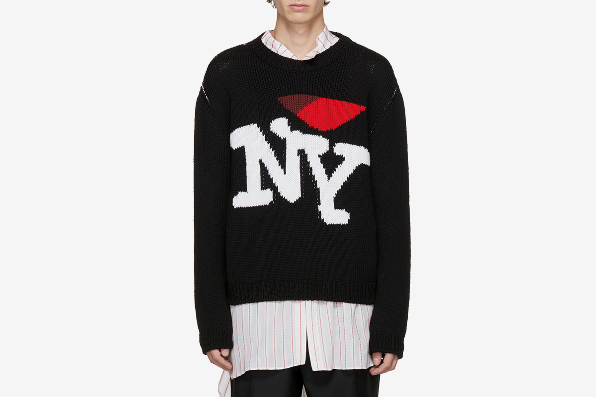 'I Love NY' Sweater