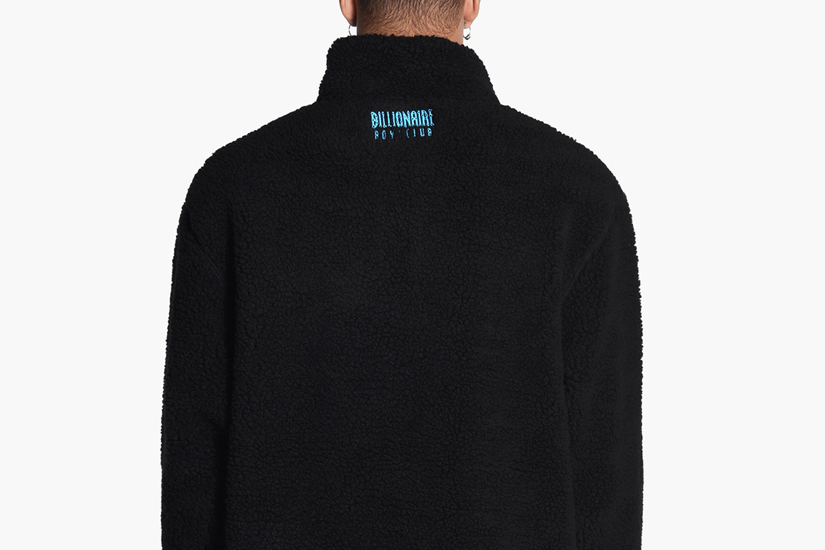 Oversized 1/4 Zip Sherpa Fleece