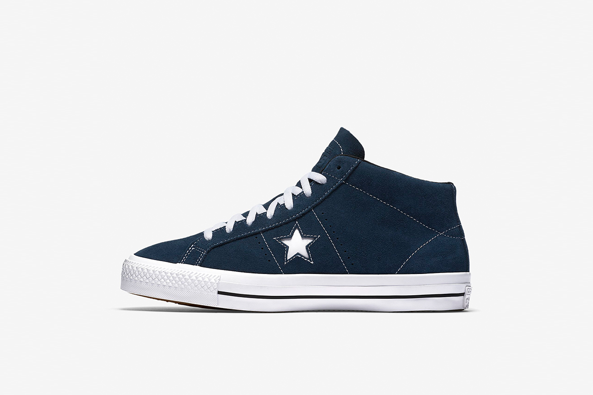 CONS One Star Pro Suede Mid Top