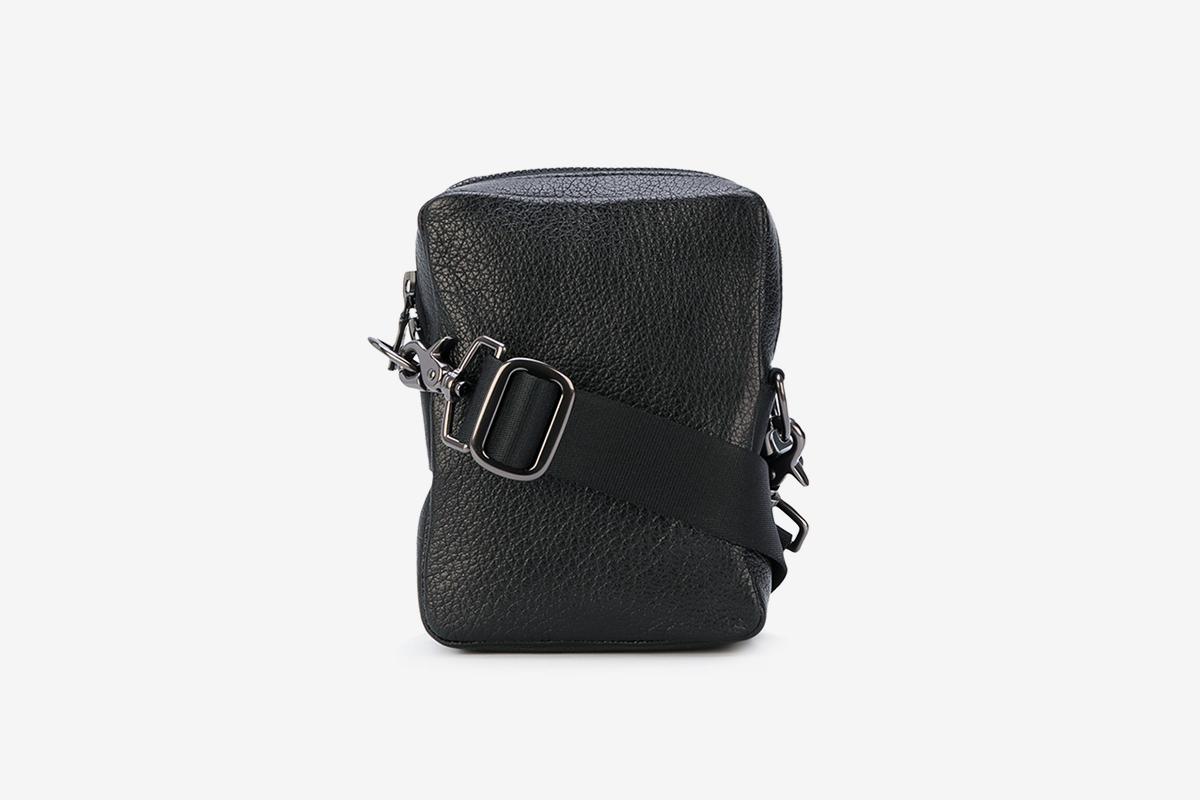 Zipped Shoulder Bag