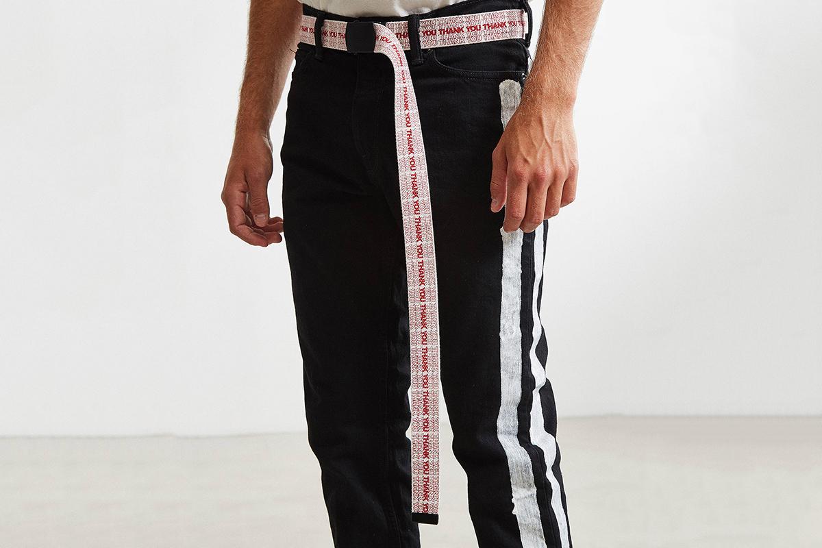 Thank You Extra Long Belt