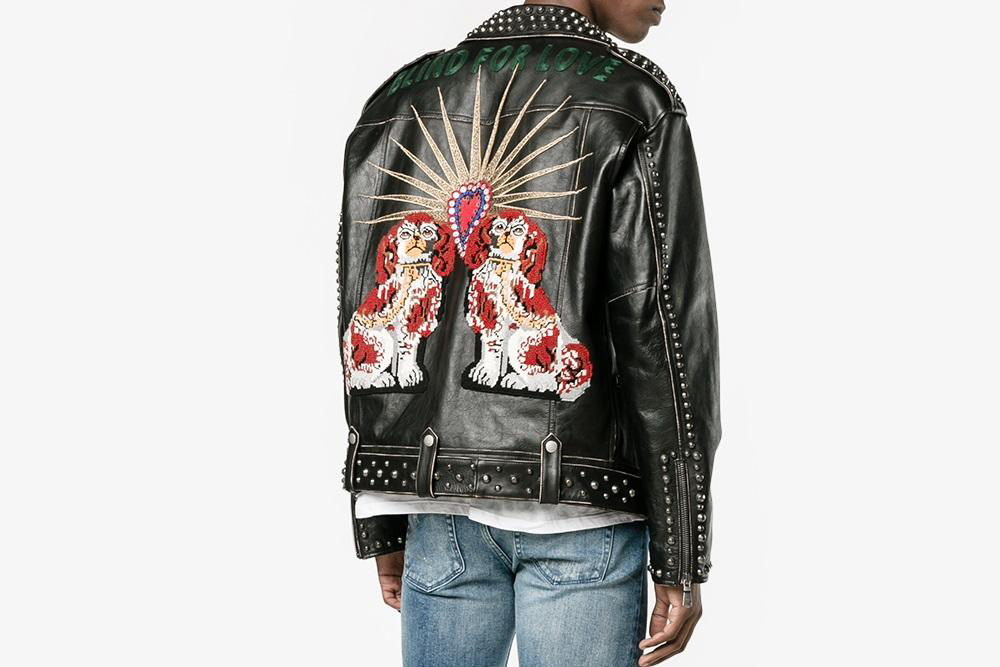 King Charles Spaniel Biker Jacket