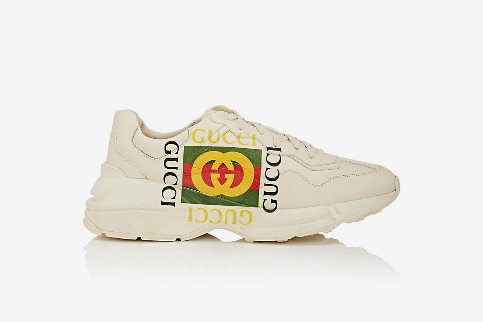 594e57b44fe Gucci s Chunky Rhyton Sneaker Is Available to Cop Right Now