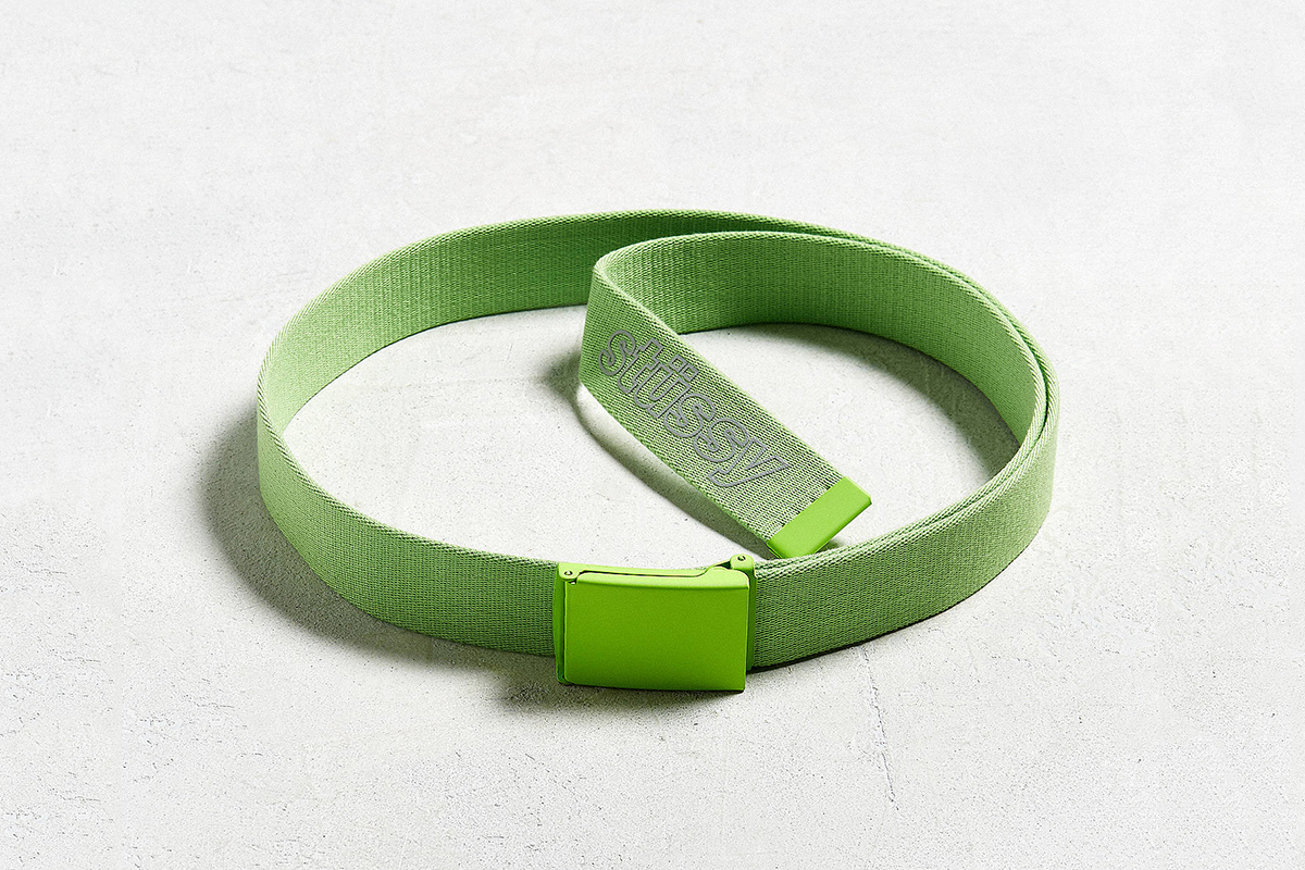 Reflective Logo Web Belt