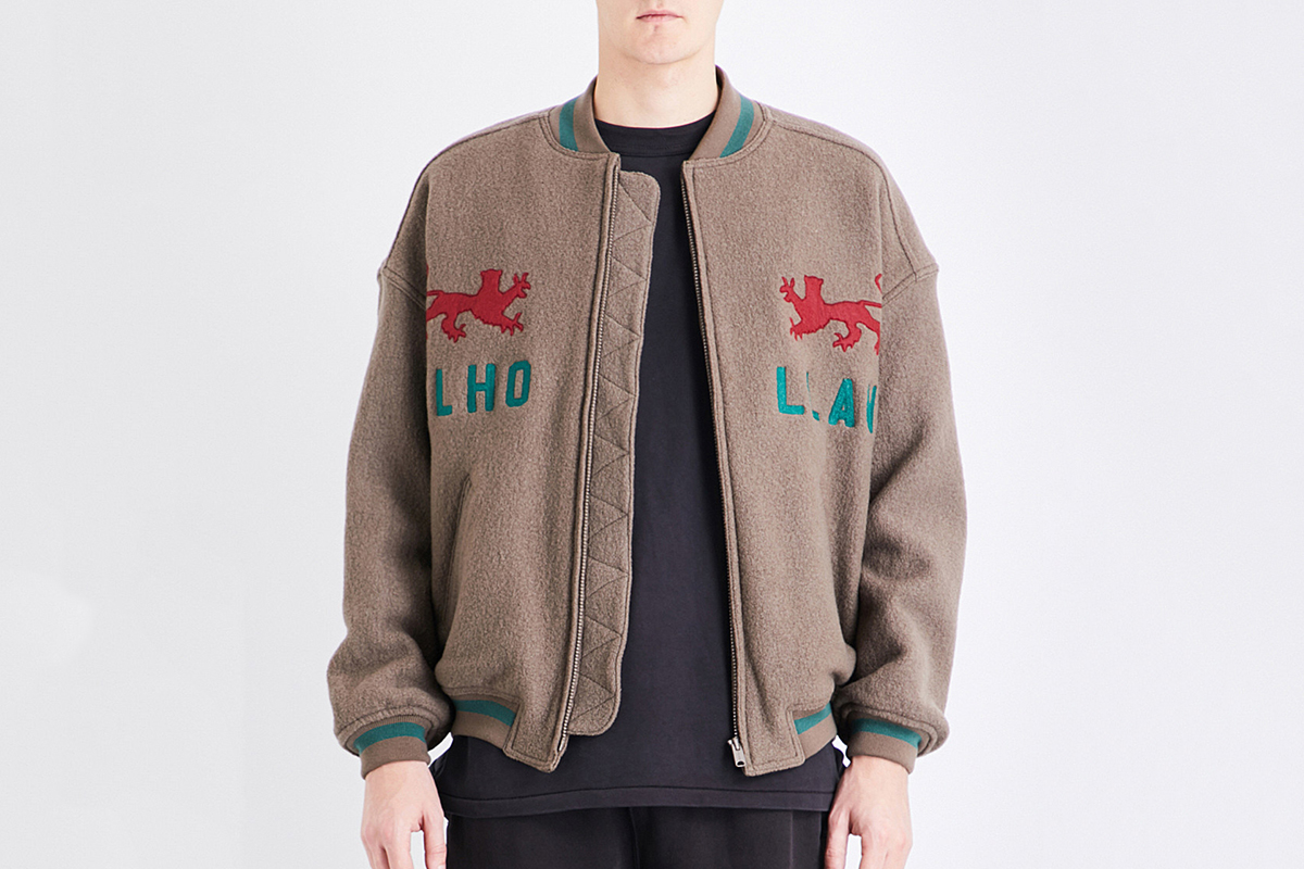Mulholland Wool Bomber