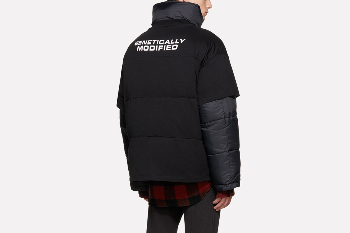 'Genetically Modified' Puffer Jacket