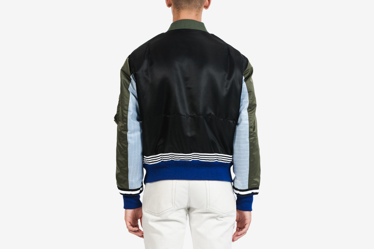 FW Multi Patchwork MA-1 Jacket