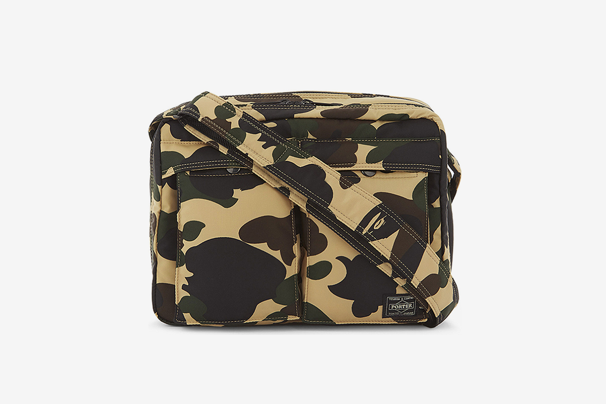 1st Camo Shoulder & Waist Bag