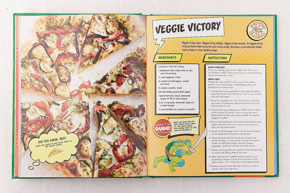 TNMT Cookbook Limited Pizza Box Set