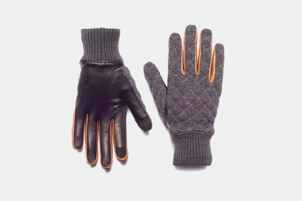 E-Tip Leather Gloves