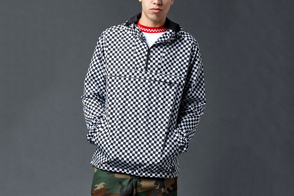 Freestyle Checkerboard Windbreaker