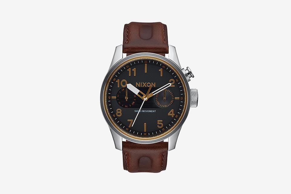 Safari Deluxe Leather , 43 MM