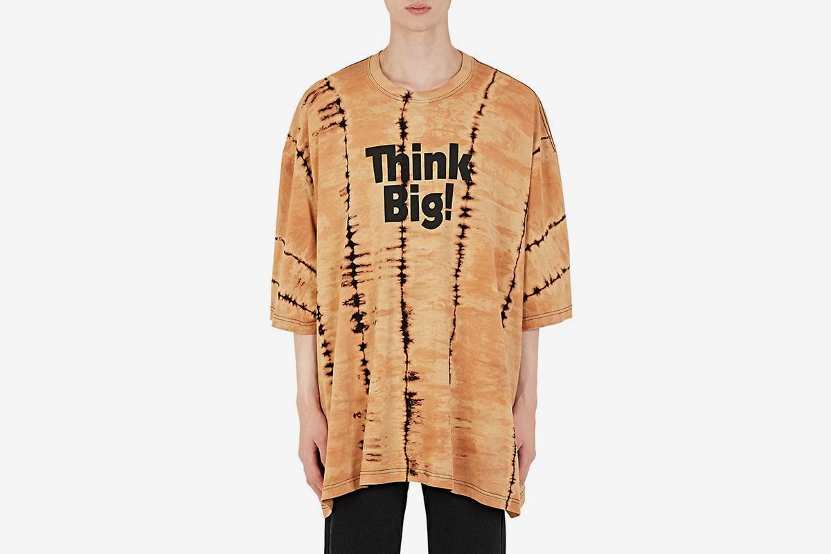 Think Big! Oversized T-Shirt