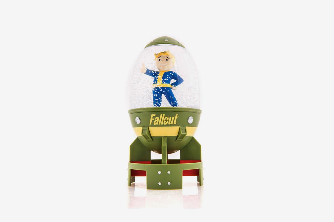 Fallout Fat Man Vault Boy Snow Globe