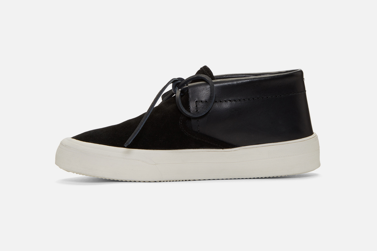 Black Chukka Hybrid Sneakers