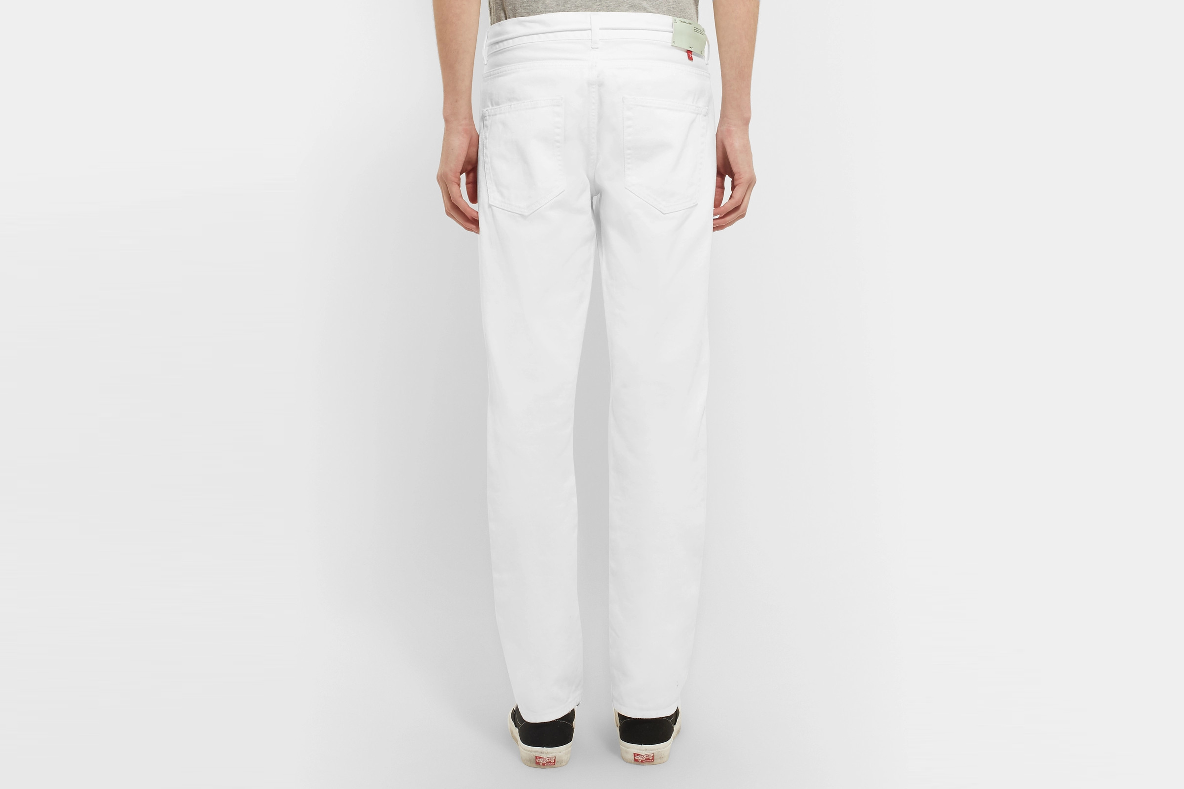 Zip Detail Denim Jeans