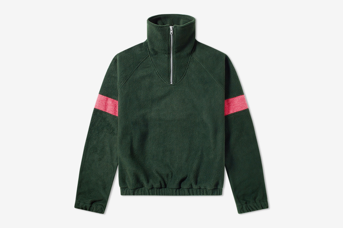 Fleece Track Top