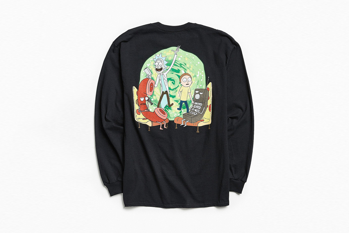 Rick & Morty Longsleeve