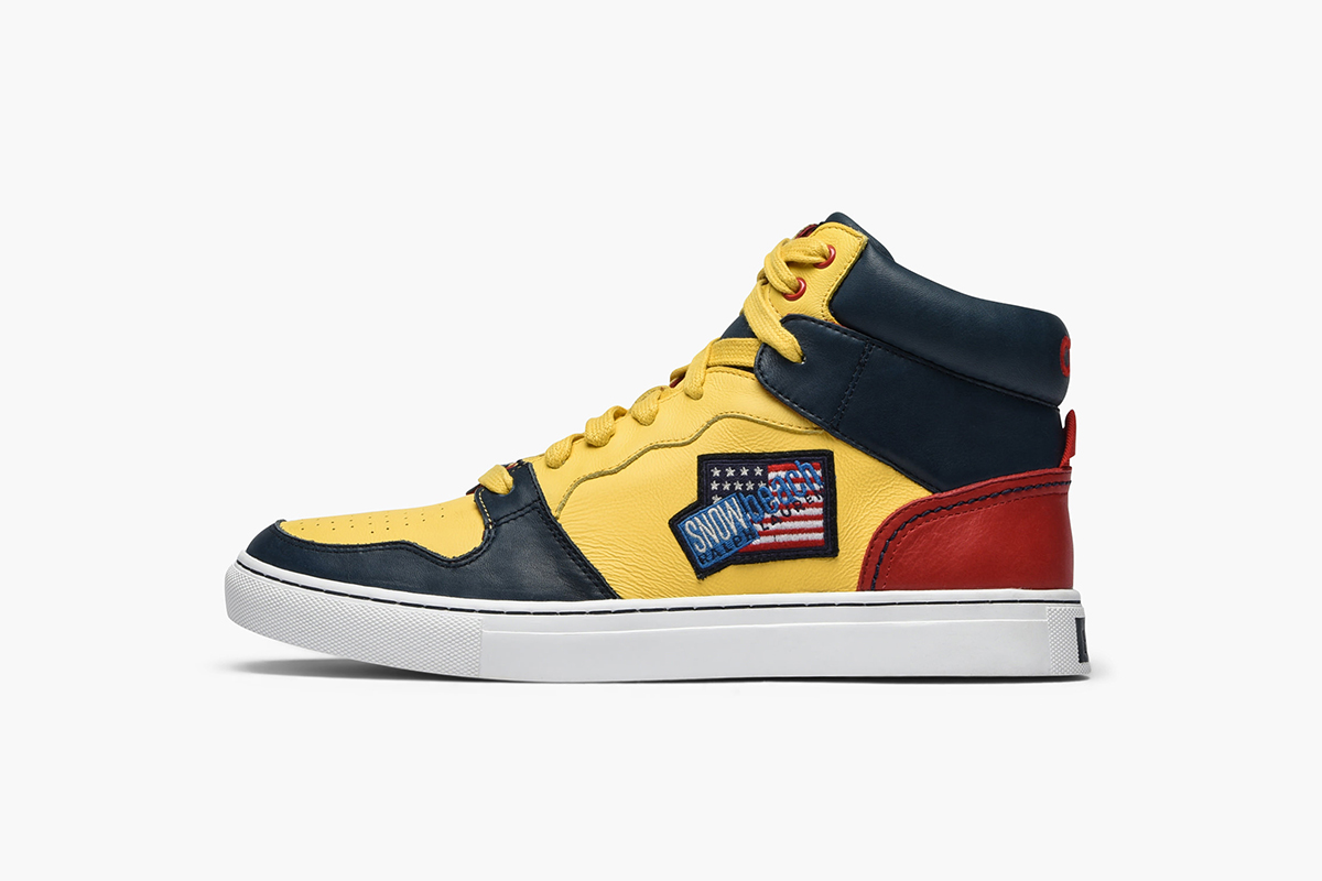 Snow Beach High-Top Sneaker