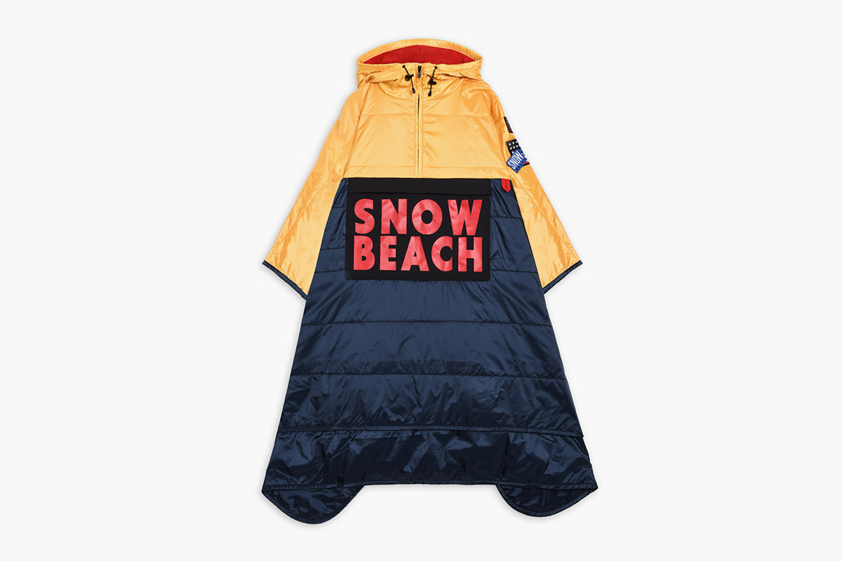 Snow Beach Poncho