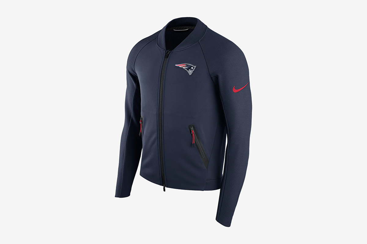 NFL Patriots Sideline Coaches Jacket