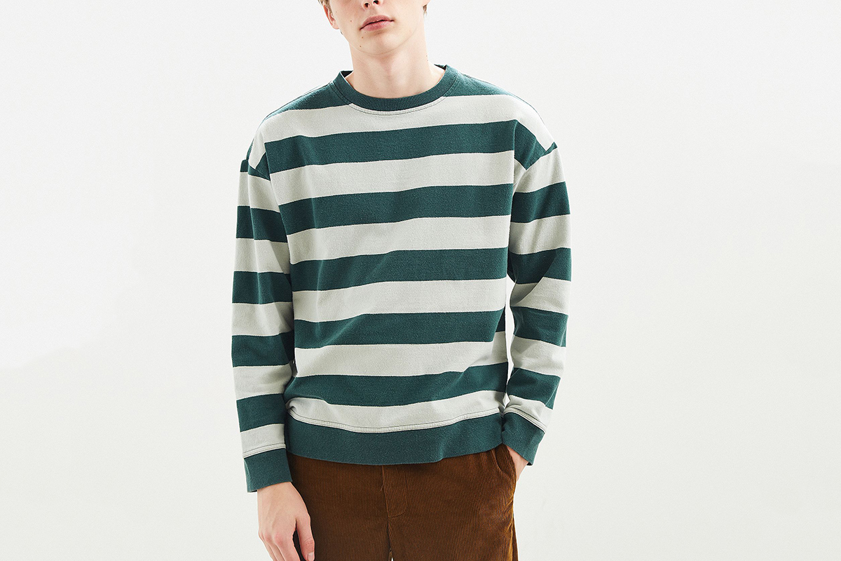 Washed Stripe Sweater