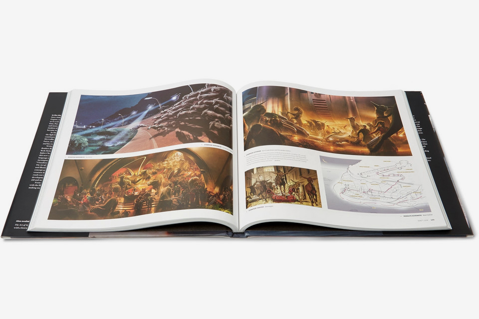 The Art Of Star Wars: The Last Jedi Hardcover Book