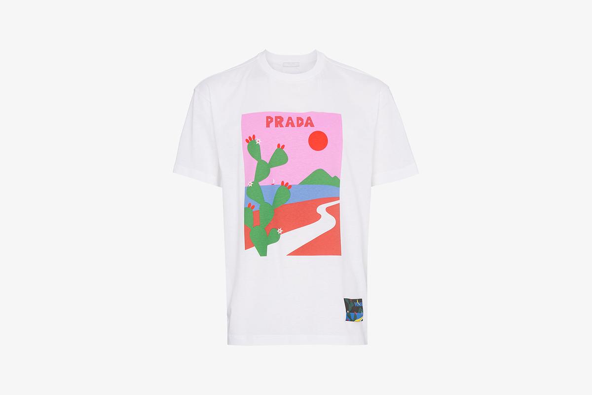 Oversized Cactus T-Shirt