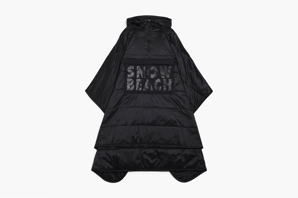 Snow Beach Ripstop Poncho