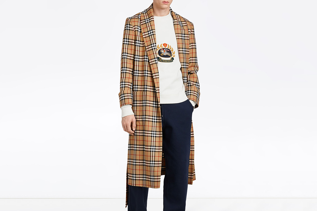 Reissued Dressing Gown Coat