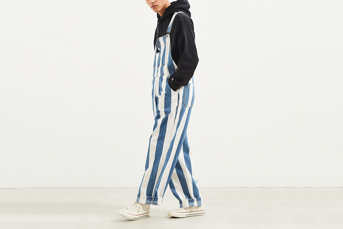 Stripe Denim Overall