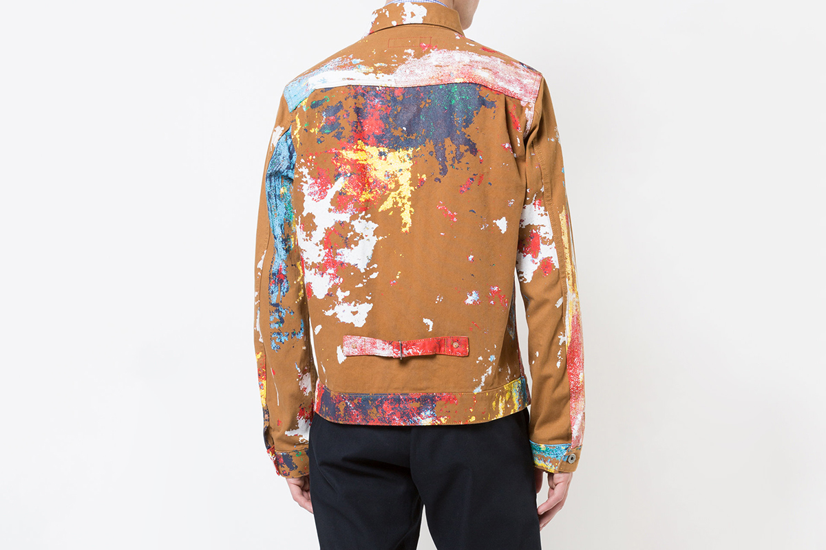 Paint Splatter Jacket