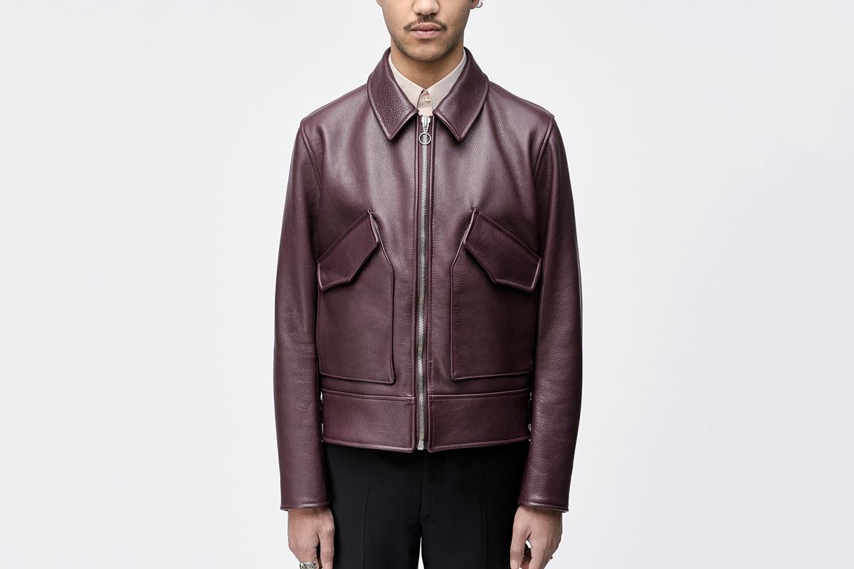 Treasure Island Leather Jacket